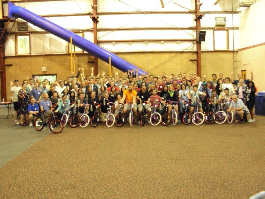 Nationwide Build A Bike Team Building Event In Columbus Ohio
