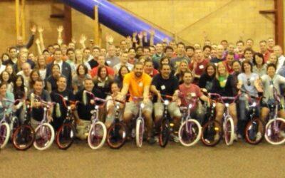 Nationwide Build-A-Bike Team Building Event in Columbus, Ohio