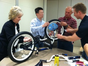 Grainger uses Build-A-Bike workshop near Chicago, Illinois