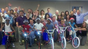 Direct Energy Build-a-Bike in Tulsa, Oklahoma