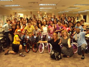 Walgreen's Build Bikes for Boys and Girls in Chicago, Illinois