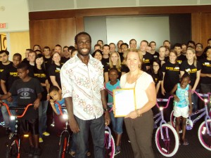 University of Iowa Build-A-Bike in Iowa City