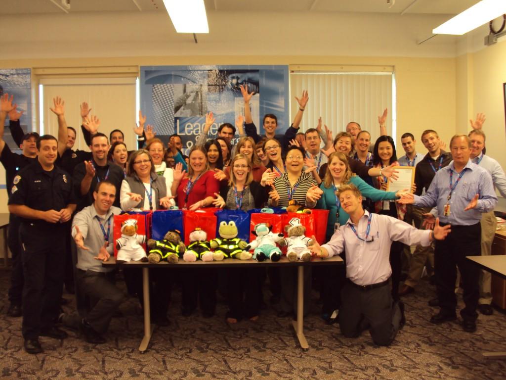 3M Resue Bear Team Building in St Paul MN