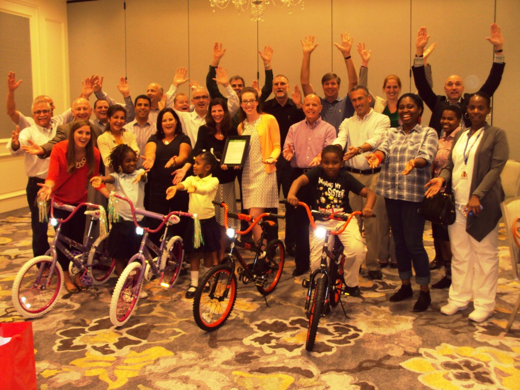 Principal Financial Group Build-A-Bike in Atlanta, Georgia