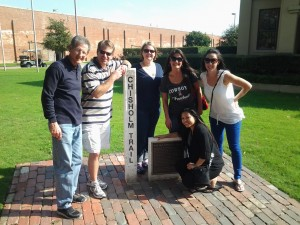 Lee Financial does the Camaraderie Quest at the Fort Worth Stockyards