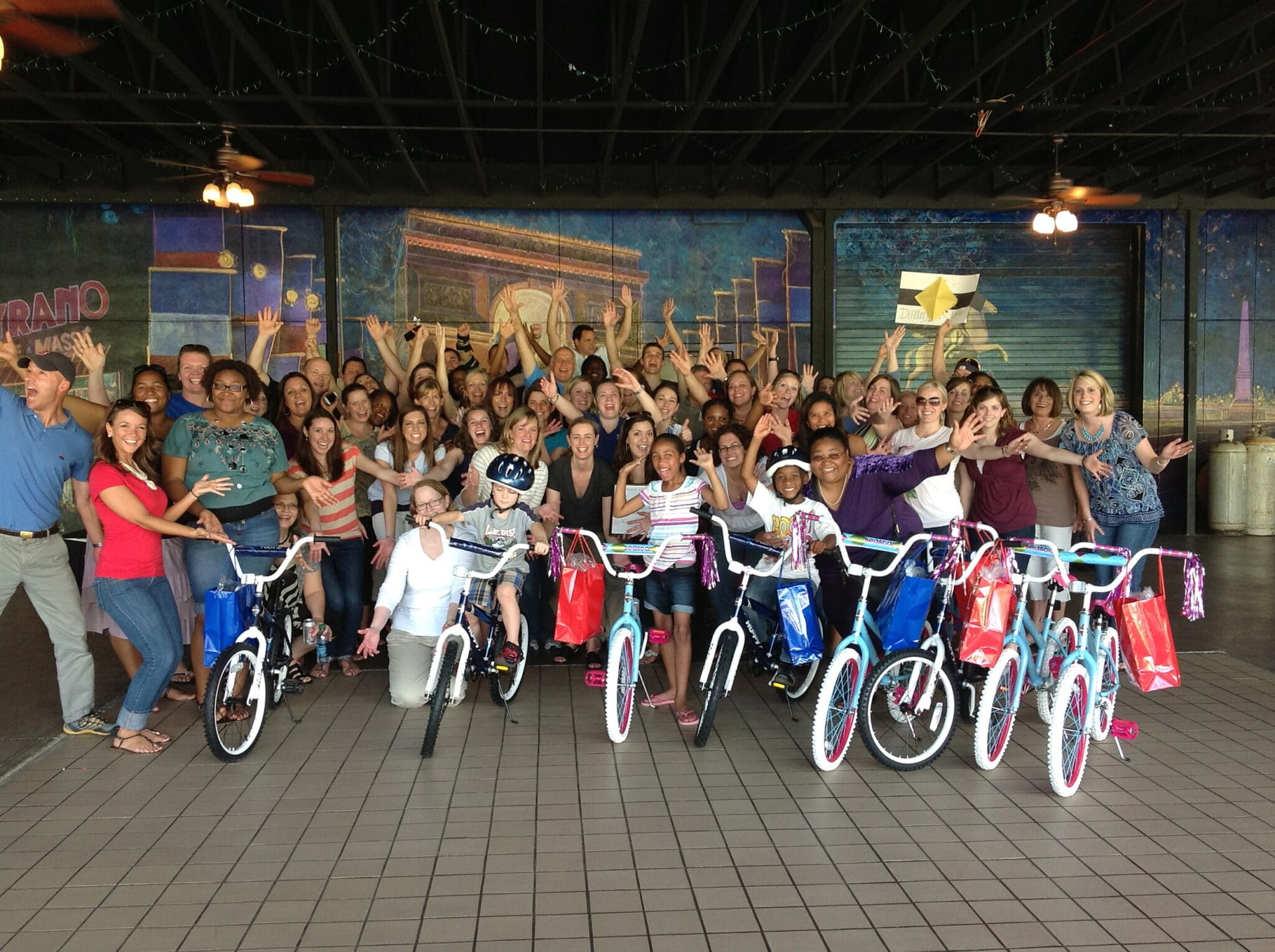 Chick-Fil-A Build-A-Bike in Atlanta, Georgia