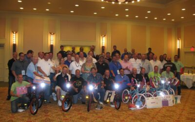 Rain for Rent hosts a Build-A-Bike for annual meeting in Baton Rouge, Louisiana