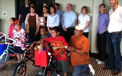 ExxonMobil Build-A-Bike in Houston, Texas
