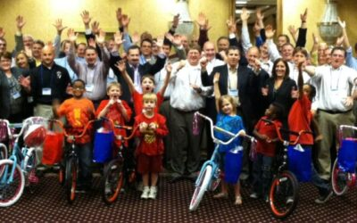 Linde does Fourth Build-A-Bike in Chicago, Illinois