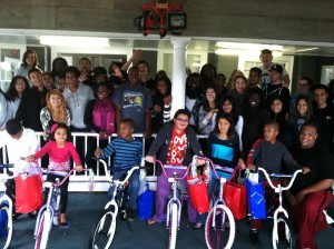 BNY Mellon Build-A-Bike on Cape Cod, Massachusetts