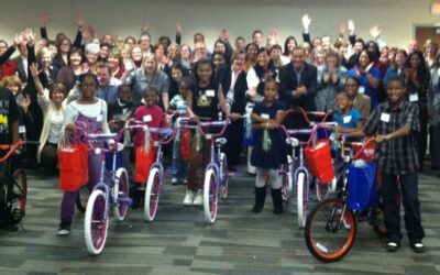 Nationwide Insurance Build-A-Bike in Columbus, Ohio