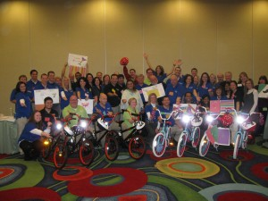Heartland Payment Systems Build-A-Bike in Dallas, Texas