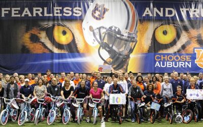 Auburn University Build Bikes in Alabama