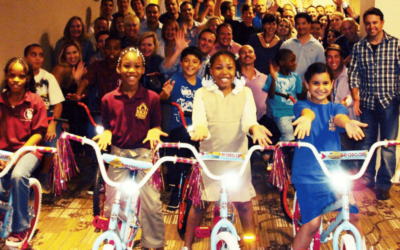Baxter HealthCare Build-A-Bike Event In Chicago, Illinois