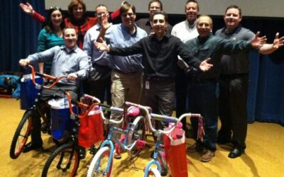 Sherwin-Williams Build-A-Bike in Cleveland, Ohio
