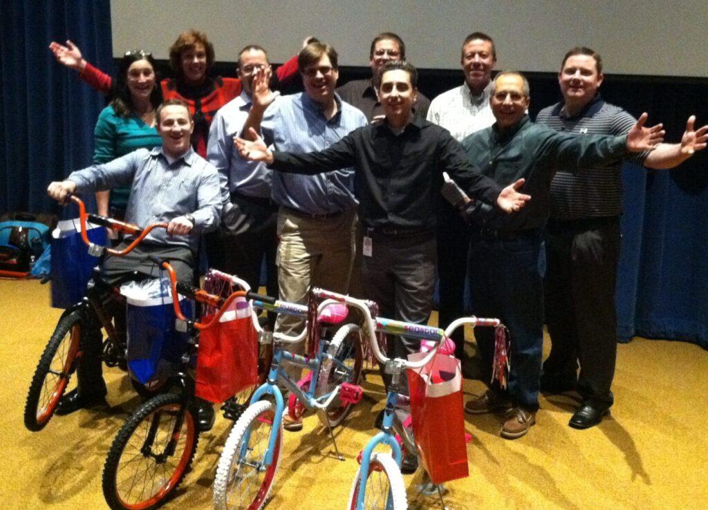Sherwin Williams Bike Build in Cleveland Ohio
