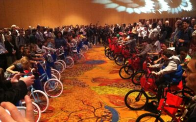 Intel Corporation Build-A-Bike In San Antonio Texas