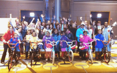 Hard Rock Hotels Hosts Build-A-Bike in Chicago, Illinois