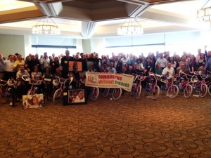 Wright Express Holds Build-A-Bike in Boston, Massachusetts