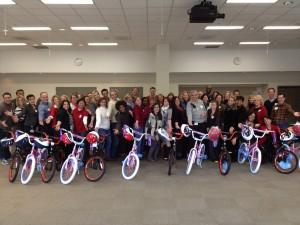 Merck Holds Build-A-Bike Near Philadelphia, Pennsylvania
