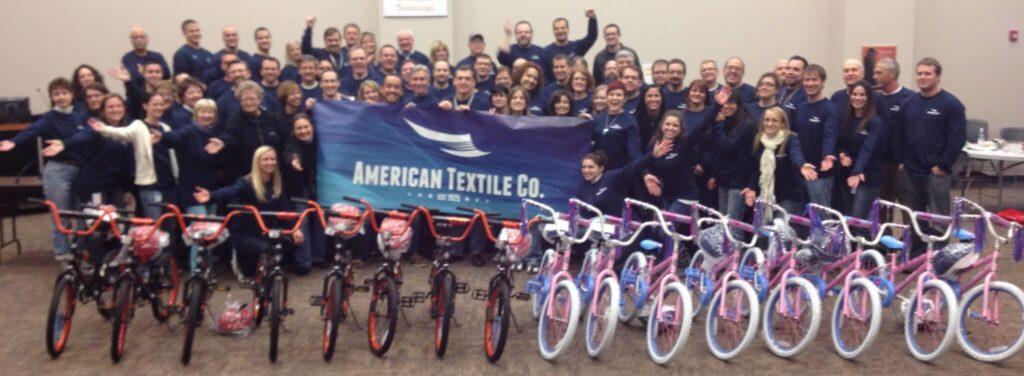 American Textile Company Build-A-Bike in Pittsburgh