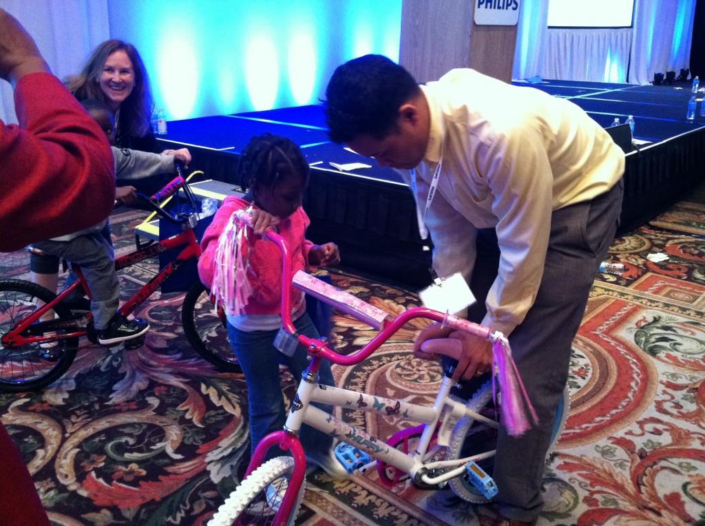 Philips Healthcare Bike Build in Orlando