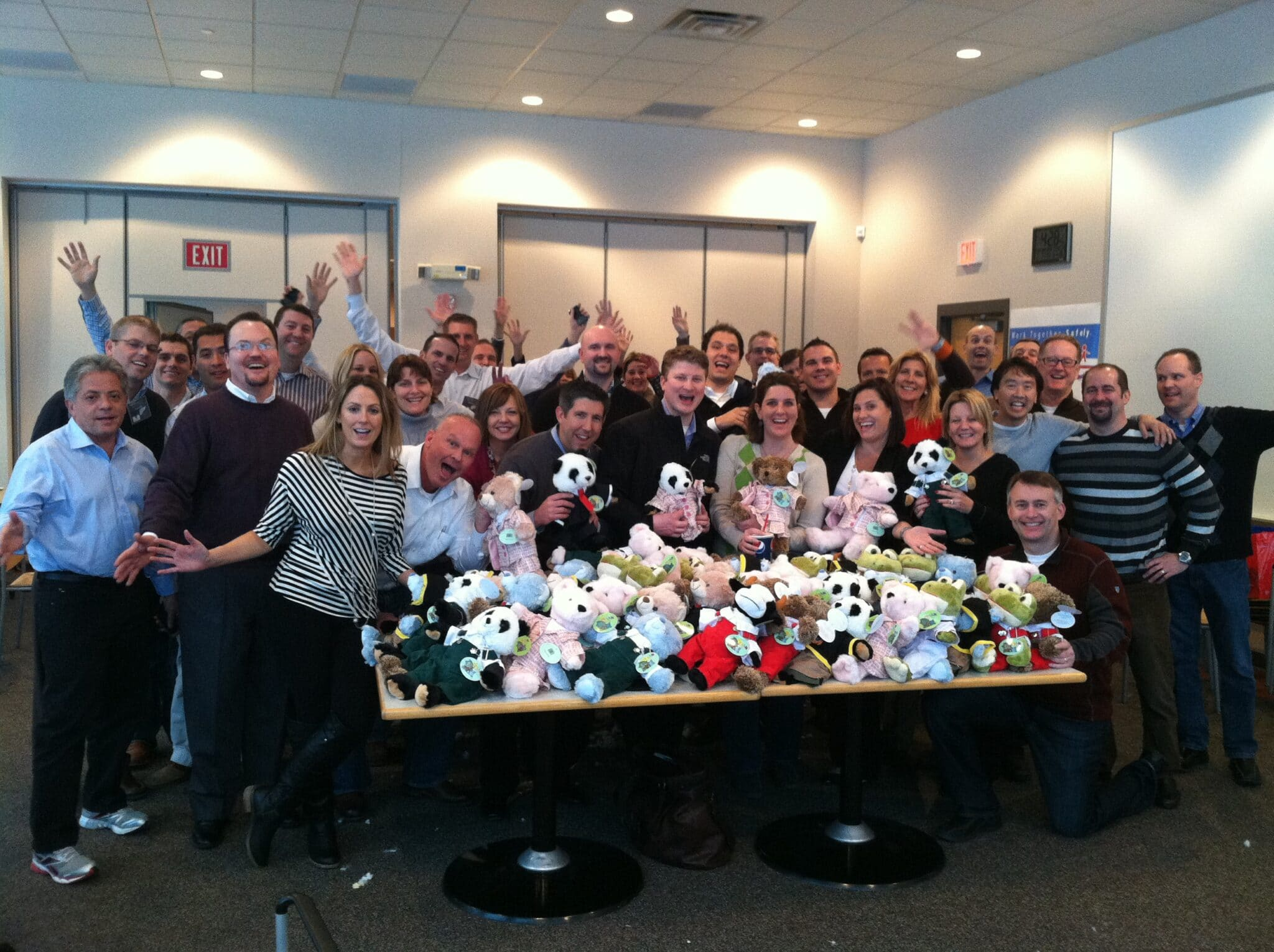 GE Capital Rescue Bear Team Event in Milwaukee