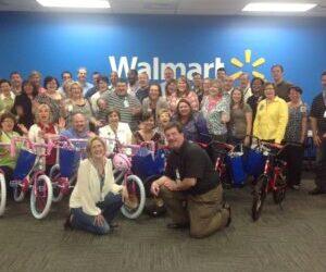 Walmart Hosts Build A Bike In Bentonville, Arkansas