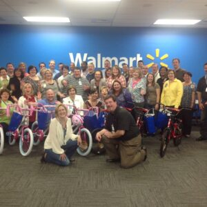 Walmart Hosts Build A Bike In Bentonville, Arkansas