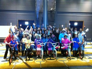 Hard Rock Hotels and Casinos Hosts Build A Bike in Chicago, Illinois