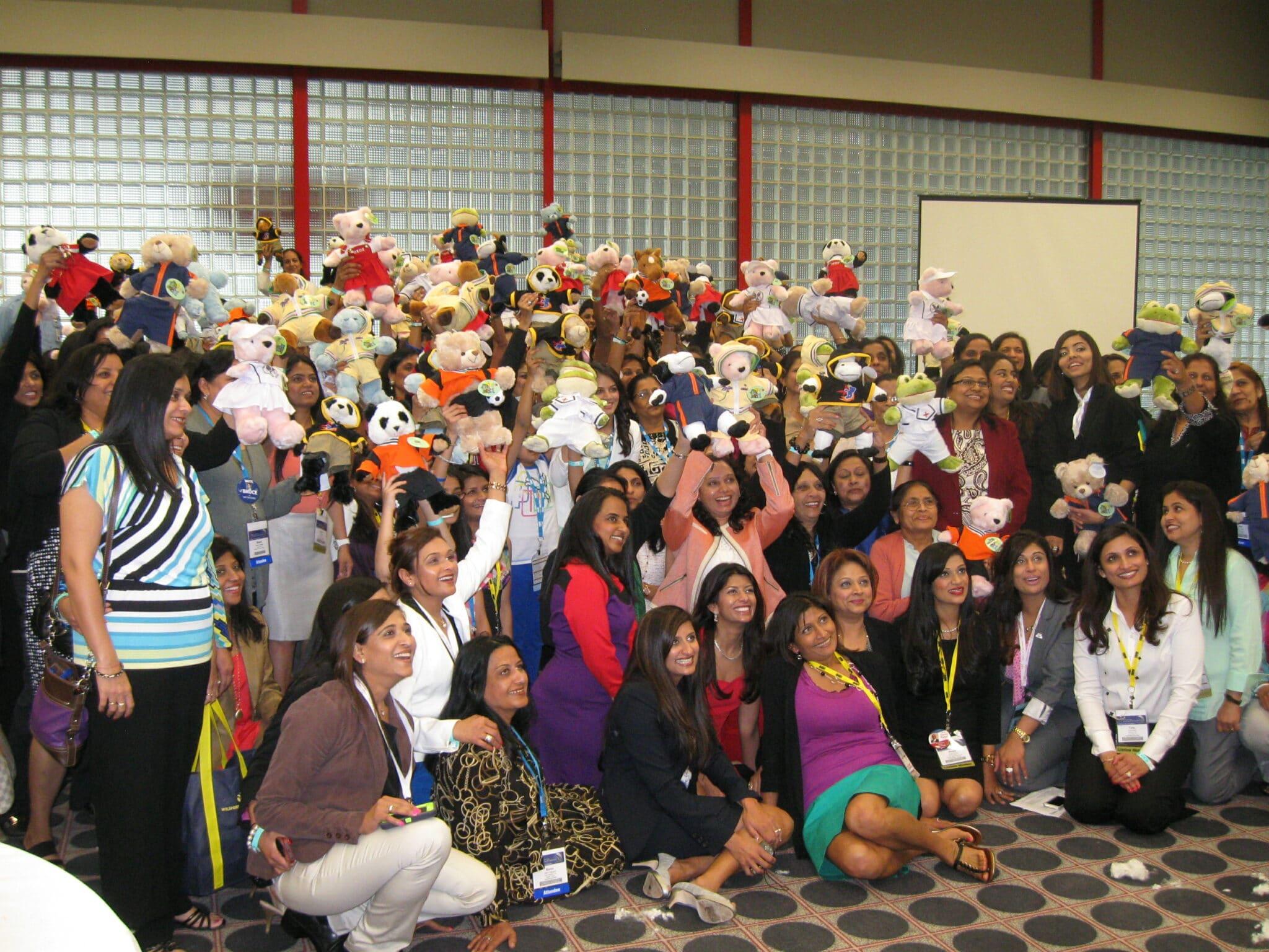 Houston Teddy Bear Team Building for AAHOA