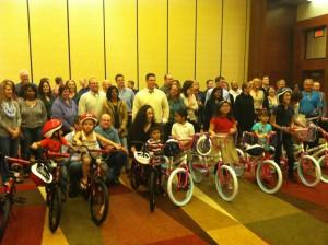 Kronos Incorporated Build-A-Bike in Dallas Texas