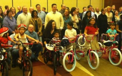 Kronos Incorporated Build-A-Bike in Dallas Texas