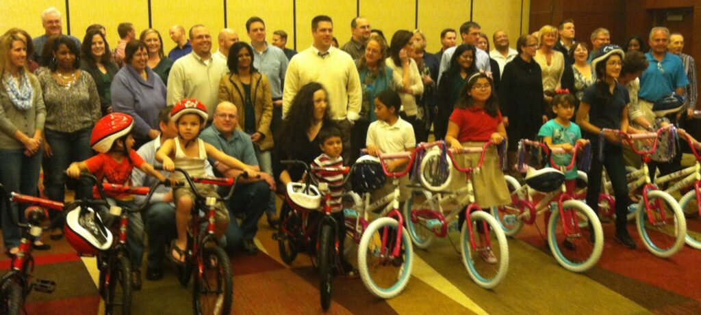Kronos Bike Team Event in Dallas TX
