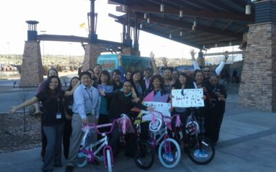 Fire Rock Casino Build-A-Bike Creating a Team Culture  Gallup, New Mexico