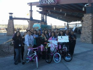 Fire Rock Casino Build-A-Bike Creating a Team Culture  Gallup, New Mexico