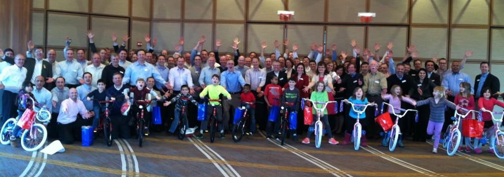 Chicago IL Bike Team Event for AM Castle