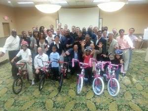 Cisco Corporation Bulid-A-Bike Orlando, Florida