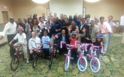 Cisco Corporation Bulid-A-Bike Orlando, Florida