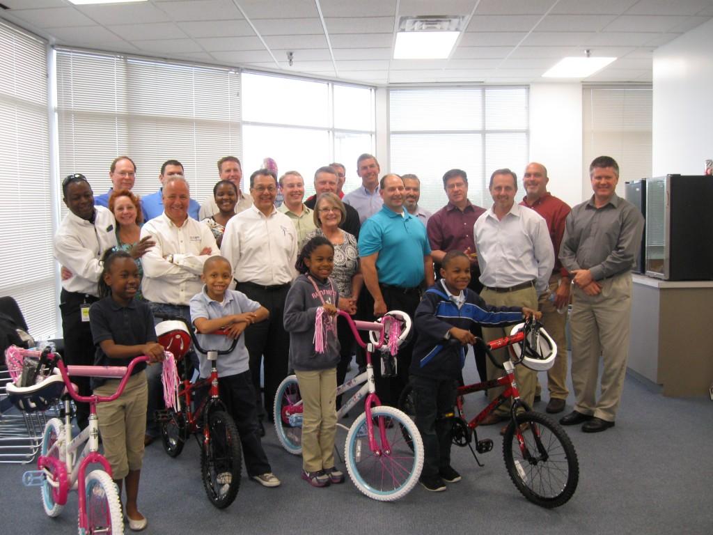 CMS Bakery Build-A-Bike in Houston TX