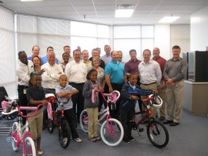 CSM Bakery Products Houston Texas Build-A-Bike