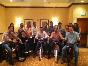 Sabre Holdings Build-A-Bike Fort Worth Texas