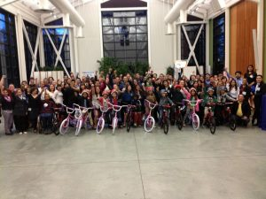 UC LEADS Hosts Build-A-Bike In Santa Cruz, California