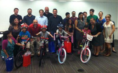Medtronic Hosts Build-A-Bike in San Francisco, California