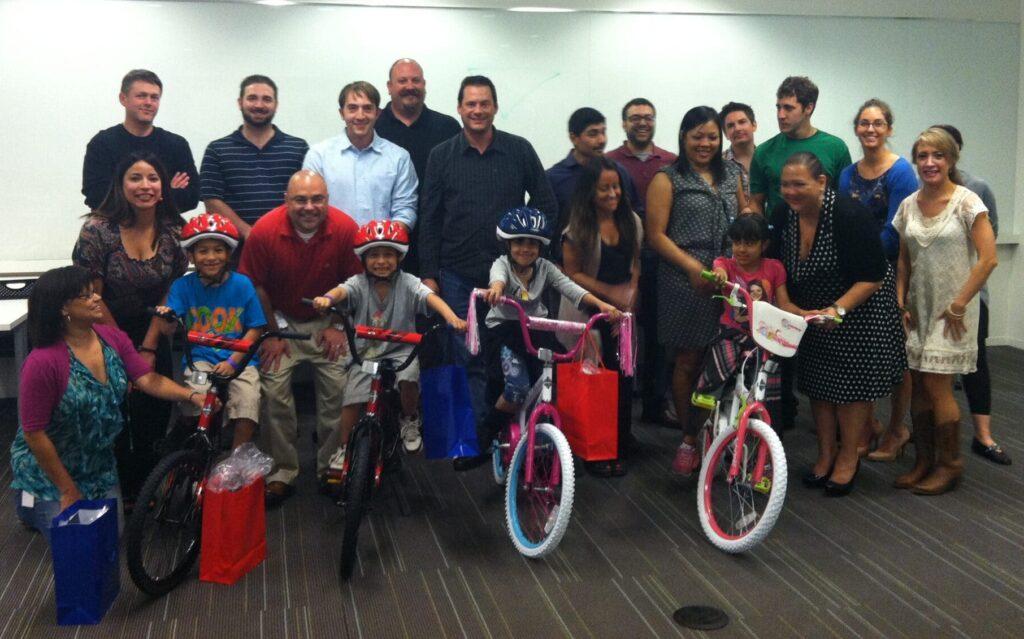 Informatica Build-A-Bike Team Event in Austin TX