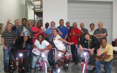Technetics Group of Houston Texas Build-A-Bike