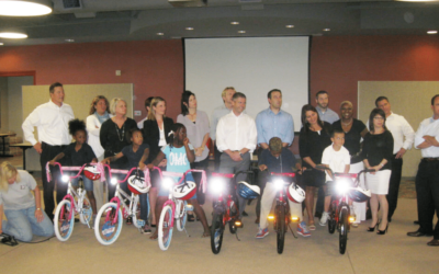 HealthPoint of Fort Worth Texas Build-A-Bike