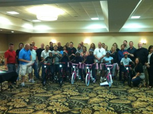 Manheim Inc Build-A-Bike in Fort Worth Texas