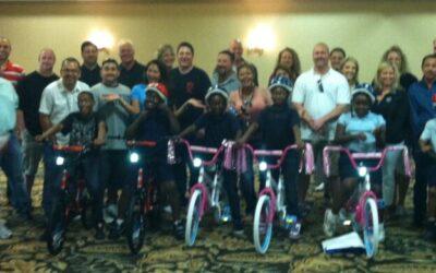 Manheim Inc Build-A-Bike in Fort Worth Texas