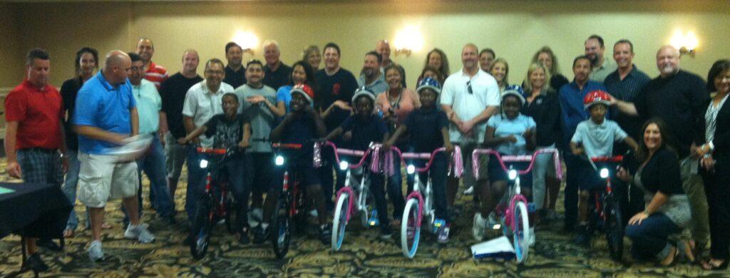 Manheim Build-A-Bike Team Building Event in Fort Worth TX